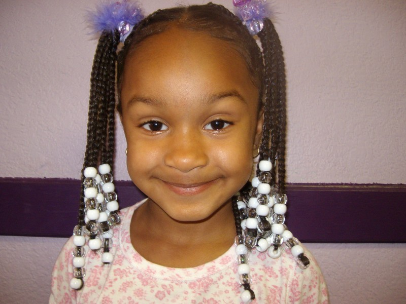 Outstanding Cornrows With Extension Hair W Beads Braids And Weaves By Cathy Hairstyle Inspiration Daily Dogsangcom
