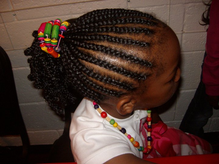 Cornrow Ponytail With Ends Rodded Braids And Weaves By Cathy